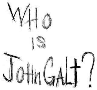 Who is John Galt? Ayn Rand's moral ideal, in the world she prayed for and achieved, was sold as spare parts, with the rest of him left to stain discarded rags.
